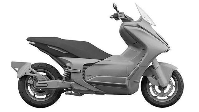 Yamaha E01 electric scooter