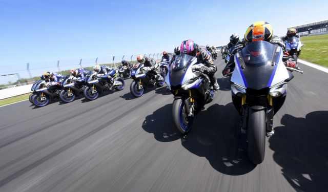 Yamaha R1M Silverstone racing experience 2021