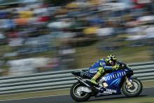 photo Pictorial: Rossi's marriage to Yamaha in 2004