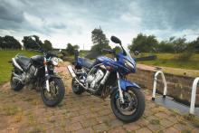 Used nakeds: Yamaha Fazer 1000 (2001) V Honda Hornet 900 (2003)