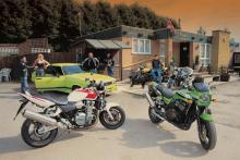 Retro Cool: Honda CB1300, Yamaha XJR1300, Kawasaki ZRX1100, Suzuki GSX1400