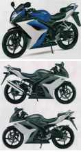 cbr125 2010 Suzuki GSX-R125 revealed!