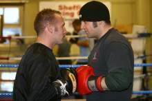 fight Visordown versus Karl Harris