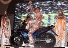 indonesia Lorenzo's 'Rockstar' tour of Indonesia