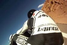 footage 240bhp electric bike beats Pikes Peak record