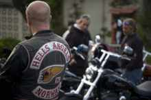 shooting Outlaw bikers pay respect to Norway attack victims