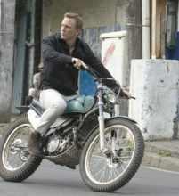 stunt Bond 23 bike stunt 'illegal'