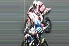 image Phillip Island Haslam and Fabrizio photo finish