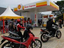 indonesia Shell open 'motorcycle-only' petrol station