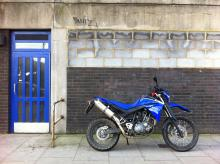 Yamaha XT660 in the city