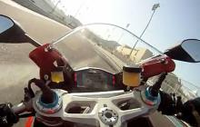 Tank Ducati Panigale S onboard lap