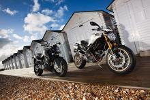Fifteen Degrees of Separation - Ducati Monster V KTM Super Duke