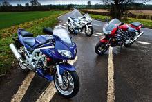 Torque is cheap - Aprilia Falco, Suzuki SV1000, Honda Firestorm