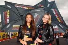 pit babes gallery WSB 2013: Silverstone paddock girls