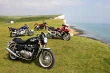 Summer Fun - Suzuki GSX-R1000K2, KTM 690SM, Yamaha XJR1300 and Triumph Thruxton