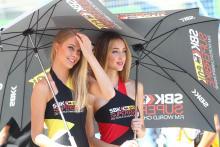 pit babes gallery WSB 2013: Istanbul paddock girls