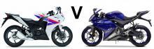 Versus: Yamaha YZF-R125 vs Honda CBR125R