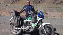 stolen bike Man's stolen round-the-world bike recovered
