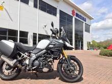 V-Strom 1000 long-termer goes back to Suzuki