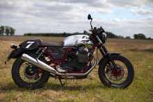italian First ride: Moto Guzzi V7 II Racer