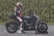 italian New Ducati Diavel cruiser spotted