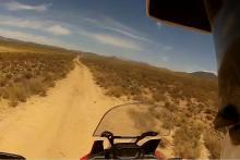 Honda Africa Twin on-board trail ride