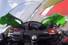 Kawasaki ZX-10R onboard lap