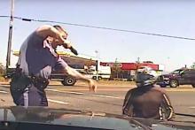 police brutality Oregon rider wins $180,170 case against kicking cop