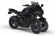 mt-09 3 wheeler Yamaha MWT-9 three-wheeler bound for production