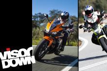 Honda CBR500R and CB500F video review