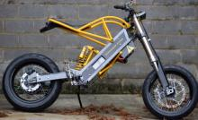 new bike Vet builds lightweight electric motorcycle in his spare time