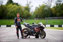 racing One-armed motorcycle racer one of BBC Three's Amazing Humans