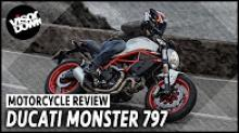 Ducati Monster 797 video review