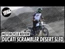 Ducati Scrambler Desert Sled video review