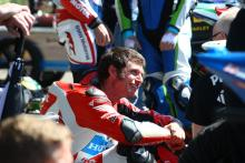 Guy Martin 2017 Guy Martin out of Ulster Grand Prix