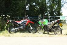 Kawasaki Versys-X 300 vs Honda CRF250 Rally review