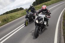 Yamaha MT-10 vs BMW S1000R video review