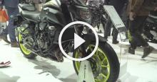 eicma New Yamaha MT-07 - A closer look