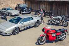 Richard Hammond Classic Motorcycles for auction