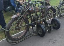 motorcycle theft Royal Enfield's heritage collection Flying Flea stolen