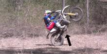 motocross wheelie tutorial How to wheelie on a motocross bike