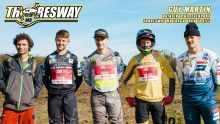 Guy Martin and Thoresway motocross track