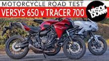 Yamaha Tracer 700 vs Kawasaki Versys 650 video review