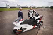 WMC electric motorcycle testing progress