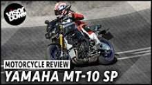 Yamaha MT-10 SP video review