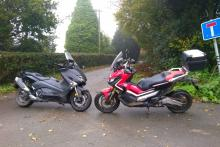 Honda X-ADV vs Yamaha TMAX review