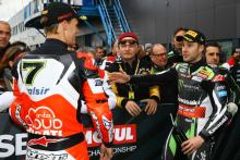 Chaz Davies, Jonathan Rea, Assen, World Superbike [Credit: Gold and Goose]