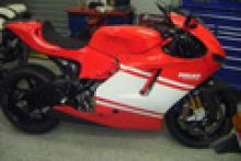 motorcycle news 54-mile Desmosedici RR sells on eBay for £40,600