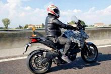 Ducati Multistrada spy shot