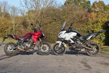 Back-to-back test: Yamaha Tracer 700 vs Kawasaki Versys 650 review